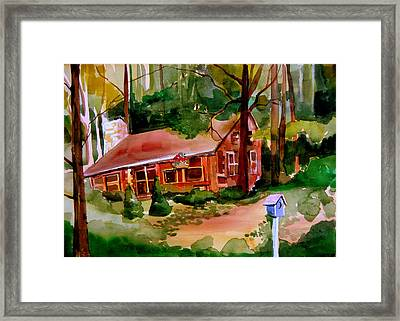 In A Cottage In The Woods Framed Print