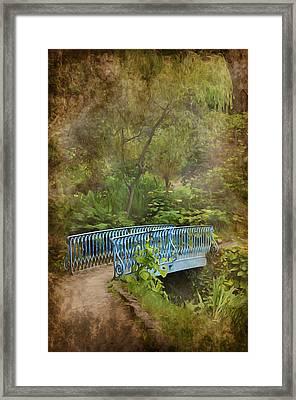 In A Garden Framed Print by Svetlana Sewell