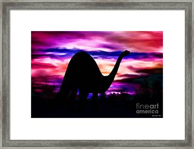 In A Land Long Ago Framed Print by Maria Urso