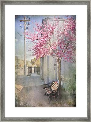 In A Small Town Framed Print by Laurie Search