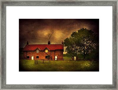 In A Village Framed Print by Svetlana Sewell