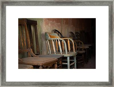 Framed Print featuring the photograph In Another Life - Another Time by Vicki Pelham
