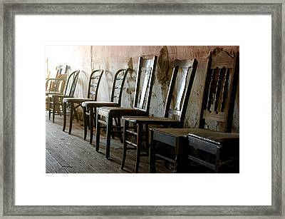 In Another Life Another Time II Framed Print by Vicki Pelham