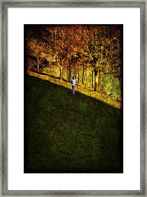 In Between Framed Print by Anna Yanev