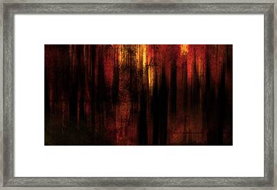In Between Framed Print by Terrie Taylor