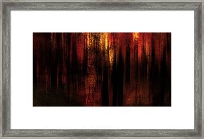 In Between Framed Print by Terrie Taylor