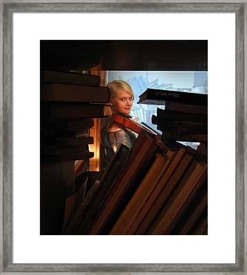 In Between Framed Print by Yula Sander