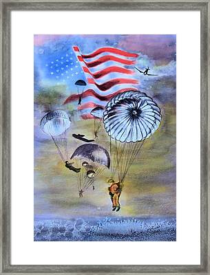 In Conflict Framed Print by Myrna Migala