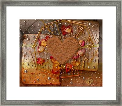 In Cookie And Bread Style Framed Print by Pepita Selles