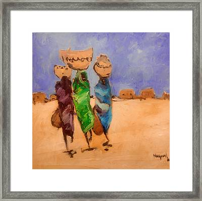 in Darfur 2 Framed Print by Negoud Dahab