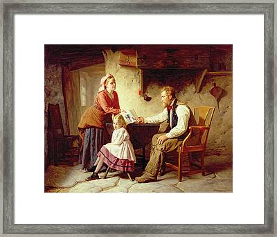 In Disgrace Framed Print by William Henry Midwood
