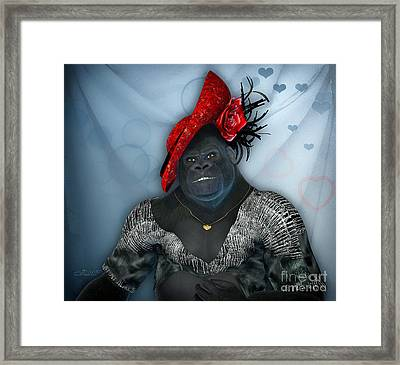 In Disguise Framed Print by Jutta Maria Pusl