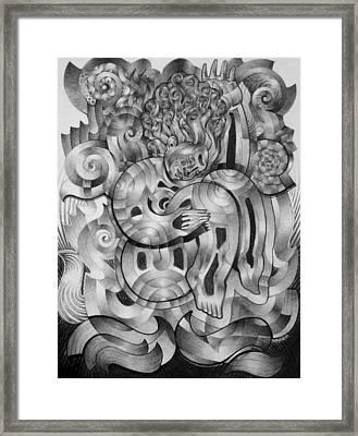 In Dream Land Framed Print