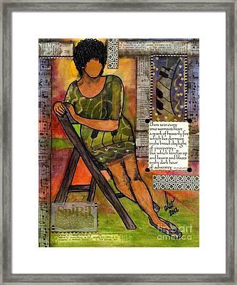 In Every True Woman Framed Print