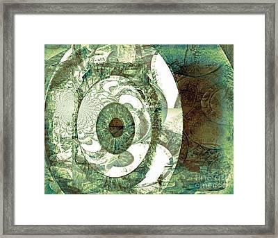 In God We Trust Framed Print by Fania Simon