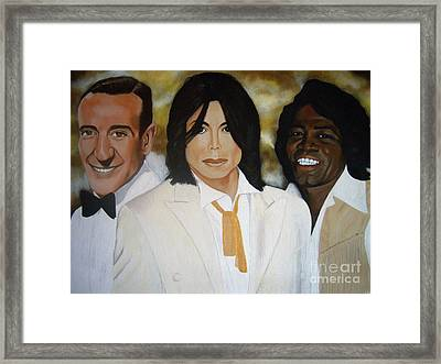 In Good Company Framed Print