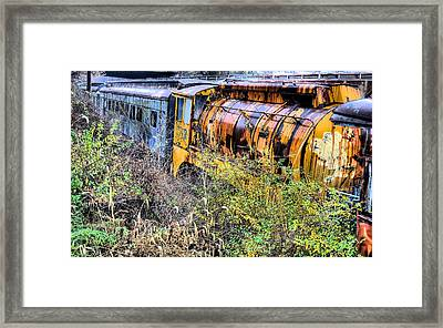 In Her Day Framed Print