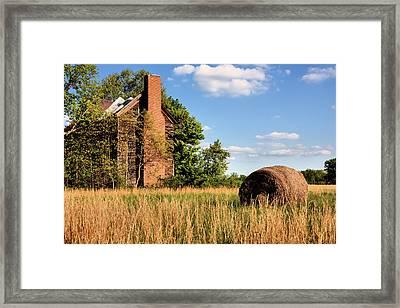 In Her Hay Day Framed Print
