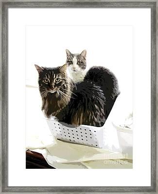 In It Together Framed Print