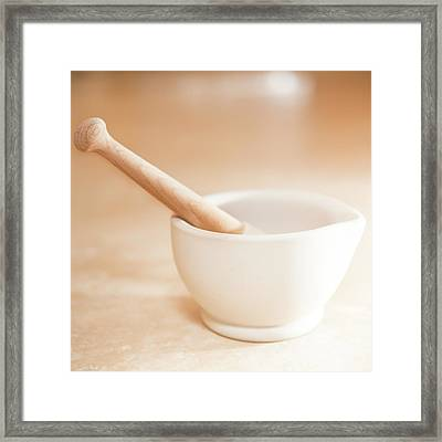 In Kitchen Framed Print by Peter Chadwick LRPS