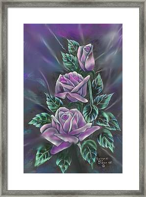 In Love Framed Print by Richard Van Order and R Parks