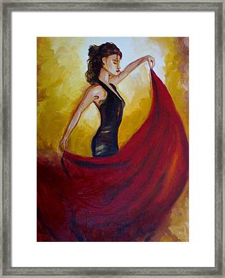 In My Own Tune Framed Print by Navjeet Gill