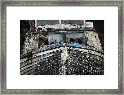 In Need Of Work Framed Print by Bob Christopher