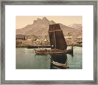 In Nordlandsbaad Framed Print
