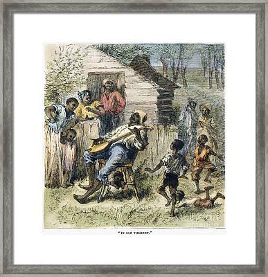 In Old Virginny, 1876 Framed Print by Granger