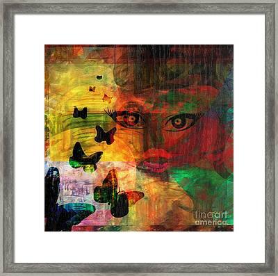 In Paradis Framed Print by Fania Simon