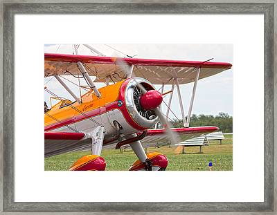 In Plane View Framed Print by Betsy Knapp