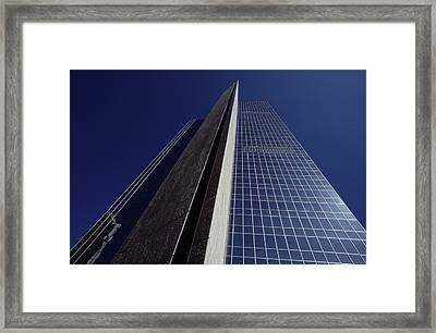 In The Burgeoning Capital, The Desert Framed Print by George F. Mobley