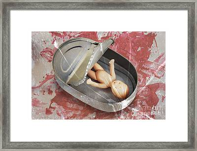 In The Cradle Framed Print