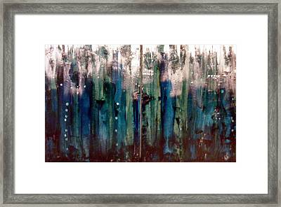 In The Deep Framed Print