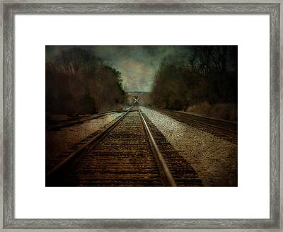 In The Distance Framed Print by Kathy Jennings