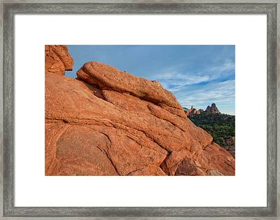 In The Distance Framed Print by Tim Reaves