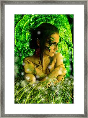 In The Enchanted Forest Framed Print by Mariusz Zawadzki