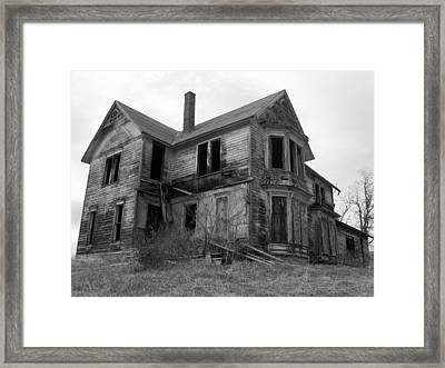 In The End Framed Print by Jennifer Compton