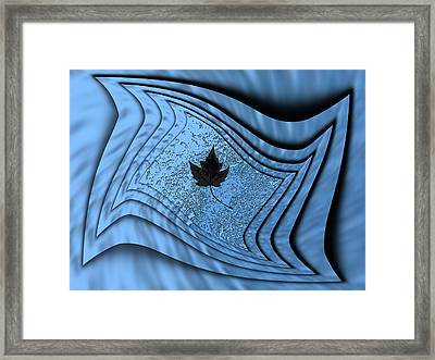 In The Eye Of The Storm 2 Framed Print by Tim Allen