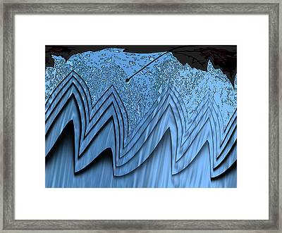 In The Eye Of The Storm 3 Framed Print by Tim Allen