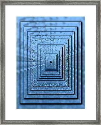 In The Eye Of The Storm 5 Framed Print by Tim Allen