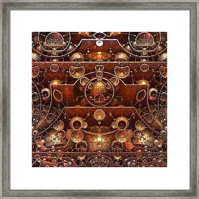 In The Grand Scheme Of Things Framed Print