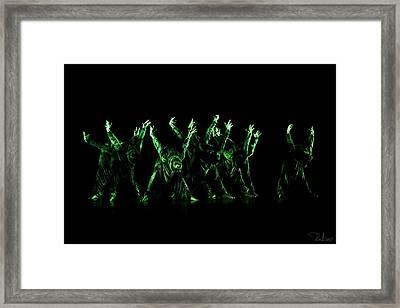 In The Green Light Framed Print by Raffaella Lunelli