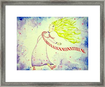In The Happiness Framed Print by Asida Cheng