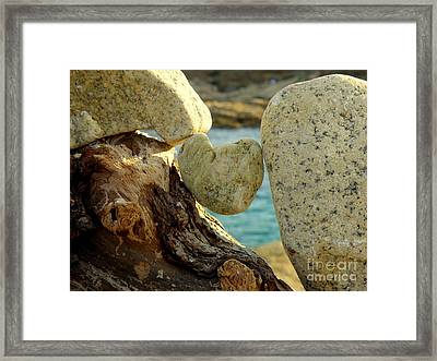 In The Heart Of Things Framed Print by Lainie Wrightson