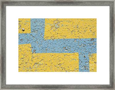 In The Land Of Pebbles Framed Print by Luke Moore