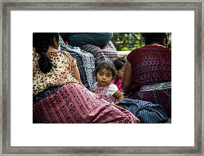 In The Middle  Framed Print by Francesco Nadalini