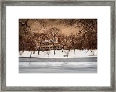 In The Midst Of Winter Framed Print by Robin-Lee Vieira