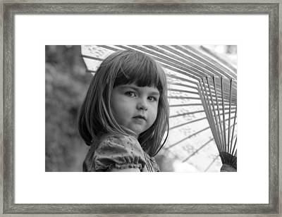 In The Moment Framed Print by Denice Breaux
