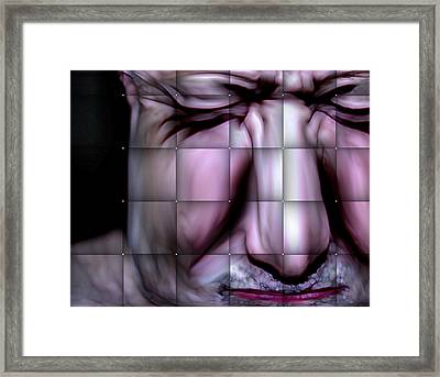 Framed Print featuring the mixed media In The Moment by Terence Morrissey